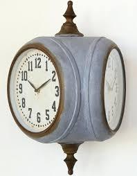 double sided train station clock clocks for australia