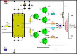 100 watt inverter circuit diagram electronics eee electrical 100 watt inverter circuit diagram electronics eee