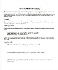 Reflective essay writing  University Homework Help  free sample college higher personal reflective essay help