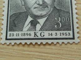 718 černá čárka V K 1953 Aukro