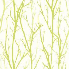 Ein modernes Muster in weiß/grün zeigt die Vliestapete 2683-27 aus ...