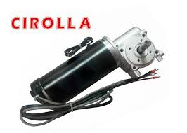 100w 24vdc automatic 2 signals sliding door motor 100pulse encoder and brake device