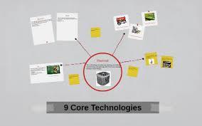 9 Core Technologies 9 Core Technologies By Tierra Todd On Prezi
