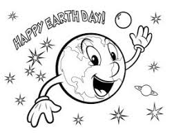 Happy Earth Day Colouring Page Archives Preschool Crafts