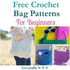 Free Crochet Patterns For Beginners Simple 48 Free Crochet Bag Patterns For Beginners FaveCrafts