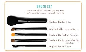 brush set w info