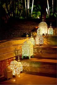 moroccan inspired lighting. Moroccan Inspired Lantern Step Lighting
