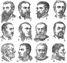 Mustache Styles Chart The Science Of Facial Hair What Signals Do Beards Stubble
