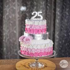 25th Anniversary Cake Anniversary Occasion Designer Cakes