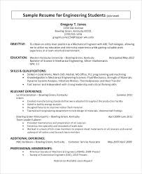 Mechanical Engineering Resume Objective Resume Objective Example For