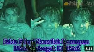 Apakah sobat termasuk netizen ang sedang mencari biodata dan foto terbaru fahmi nasrullah ? Fakta Fahmi Nasrullah Kesurupan Bikin Ngak Ngak Di Tiktok Jelajahpagi Com