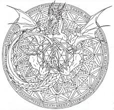 Small Picture Snake Mandala Coloring Pages Coloring Pages