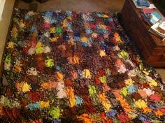 DIY [no-sew] quilt. choose any colors in fleece. Great for baby ... & My DiY no sew quilt!! Made freshman year of college! Maybe even with Adamdwight.com