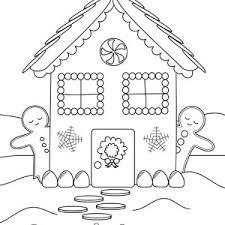 gingerbread house coloring sheet christmas house coloring pages christmas coloring pages