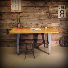 Butcher Block Kitchen Tables Antique Old And Vintage Butcher Block Work Table Made From