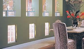 glass block interior window
