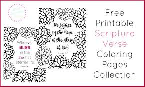 Bible Verse Coloring Pages Scripture Verse Coloring Pages Collection