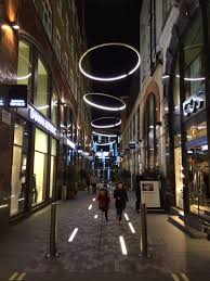 Urban Lighting Design Pedestrian Street Lighting Lighting_exterior Built