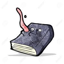 cartoon magic spell book stock vector 32823686