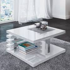 white high gloss coffee table modern