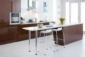 cabinets in myrtle gloss and gloss white and think quartz benchtops from bunnings