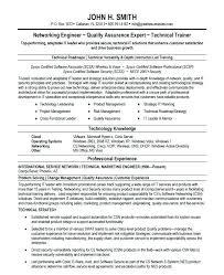 Resume Examples Network Engineer Resume Examples