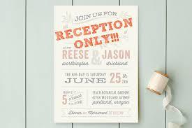 Post Elopement Reception Wording The Invitations