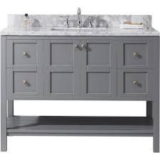 gray bathroom vanity. Virtu Usa Vanities With Tops Es 30048 Wmsq Gr Nm 64 1000 And Gray Bathroom Vanity E