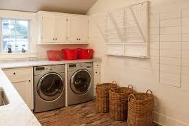 drying rack laundry room beach style with farm kitchen farm kitchen beach style laundry room