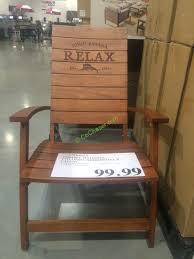costco 1500022 tommy bahama folding adirondack chair