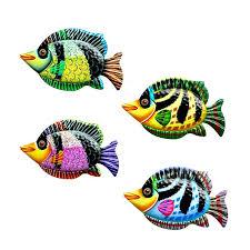 large metal fish wall art decoration