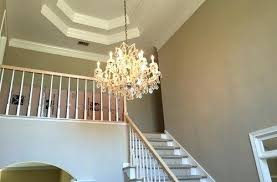 2 story foyer 2 story foyer chandelier what is the best size for a in two average 3 2 story foyer conversion