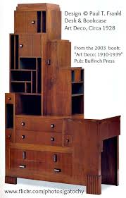 art deco furniture 1920s. skyscraper desk and bookcase by paul frankl t was born in austria but moved to new york he a designer architect furniture maker art deco 1920s