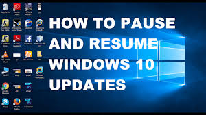 How To Pause And Resume Windows 10 Updates With Command Prompt
