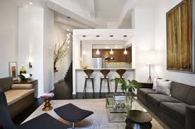 small open kitchen living room design and desi layouts open kitchen living room combo wall