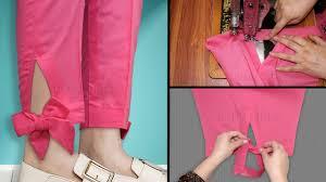 Stylish Capri Design Trouser Design 2019 For Girls Beautiful Trouser Designs For