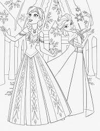 Anna E Elsa 5 Disegni Da Colorare Gratis Disegni Da Colorare E