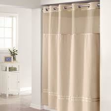 radiant hookless extra long shower curtain liner in wall in bathroom decoration ideas shower stall curtains