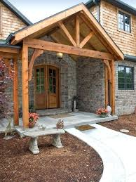 building a porch roof back porch with an interesting gabled roof framing diy patio roof