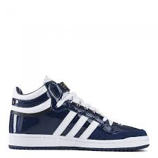 adidas men s originals concord ii mid patent leather shoes collegiate navy blue white gold f37262
