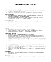 Graphic Designer Career Objective Sample Resume Objective 8 Examples In Pdf Doc