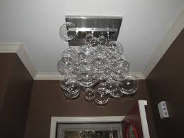 glass bubble chandelier lighting. My DIY Modern Glass Ball Bubble Chandelier | Musings From An Ordinary Girl Lighting U