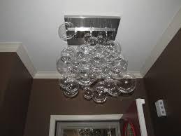 my diy modern glass ball bubble chandelier musings from an ordinary girl
