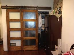 Overlapping Sliding Barn Doors Interior Sliding Barn Door Hardware Sliding Interior French Doors