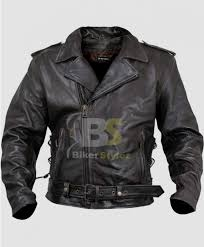 xelement xs 589 armored black leather classic biker clothing
