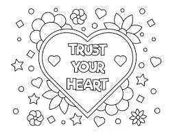 Hearts, cards, candy, flowers, and chocolate, either milk tender cuddling teddy bears holding hearts are waiting for you to make pretty colors, as well as beautiful bouquets of flowers, beautiful and original. 50 Free Printable Valentine S Day Coloring Pages