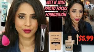 new wet n wild photo focus foundation desert beige demo 7 hour wear test arzan s