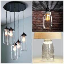 mason jar light chandelier brilliant mason jar light fixture mason jar lighting fixtures for your rustic