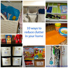 10 ways to reduce clutter 1