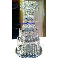 chandelier cupcake stand crystal chandeliers tal and cake or dividers with tals white als
